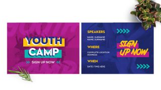 Youth Camp Postcard