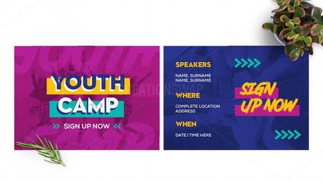 Youth Camp Postcard (97695)