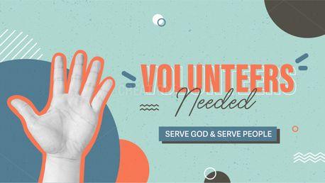 Volunteers Needed (97756)