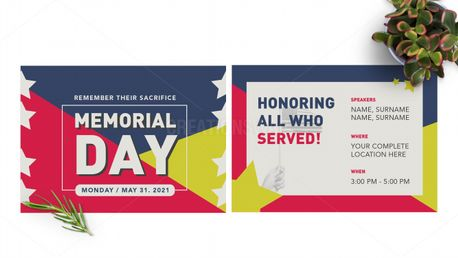 Memorial Day Postcard (97793)