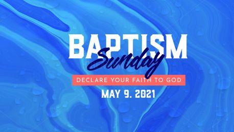 Baptism Sunday (97805)