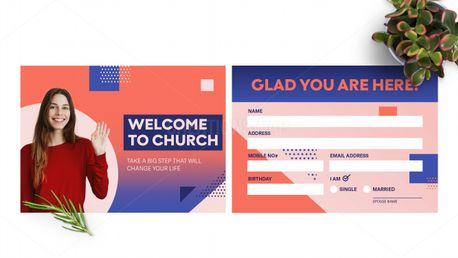Welcome Connection Card (97809)