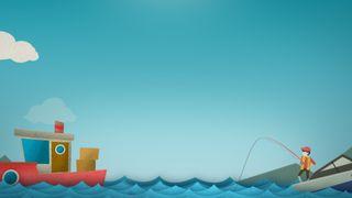Go Fish Motion Background 03