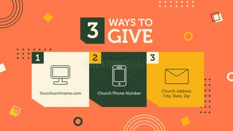 3 WAYS TO GIVE (97835)