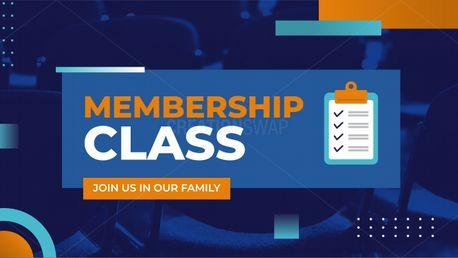 Membership Class (97839)