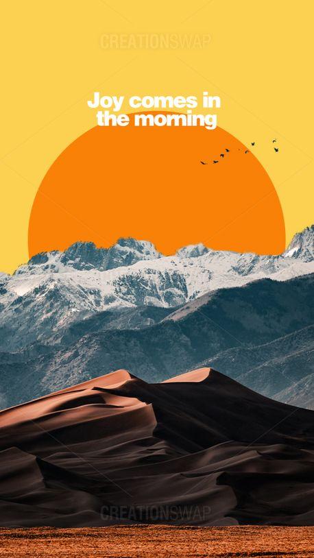 Joy in the morning (97858)