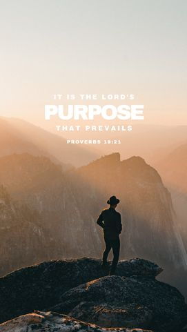 Lord's purpose