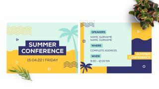 Summer Conference Postcard