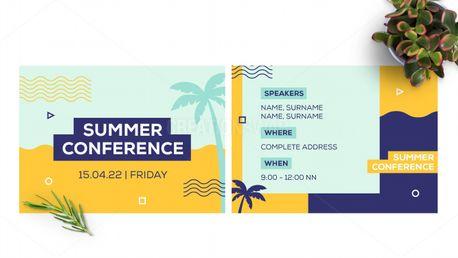 Summer Conference Postcard (97875)