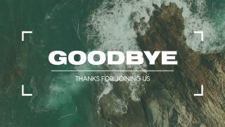 Ocean Film Reel // Goodbye