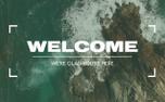 Vintage Ocean Reel // Welcome (97953)
