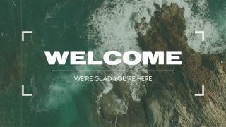 Vintage Ocean Reel // Welcome