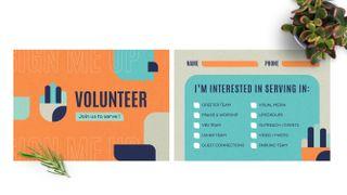 Volunteers Signup