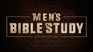 Men's Bible Study Still