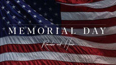Memorial Day - Flag (98071)
