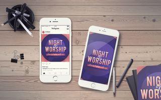 Night of Worship IG Story