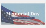 Memorial Day Flag (98135)