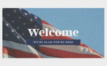 Patriotic Welcome (98140)