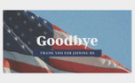 Patriotic Goodbye (98145)