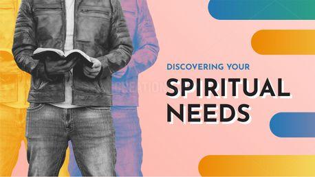Discovering Spiritual Needs (98162)