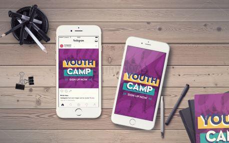 Summer Camp IG Story (98184)