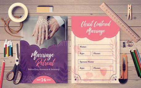 Marriage Retreat Postcard (98185)