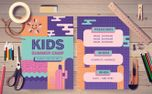 Kids Summer Camp Postcard (98202)