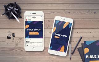 Bible Study IG Story