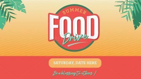 Summer Food Drive (98211)