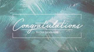 Pool Palms Graduates