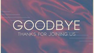 Dedicated Blue : Goodbye