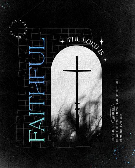 Faithful-2 Thessalonians 3:3 (98421)