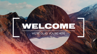 Mountain Film Welcome