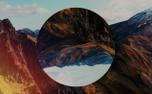 Mountain Film Background Loop (98439)