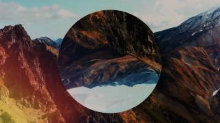 Mountain Film Background Loop