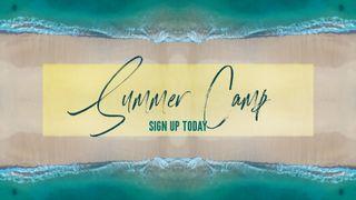 Ocean Summer Camp Slide