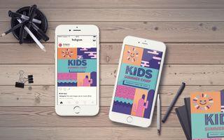 Kids Summer Camp IG Story