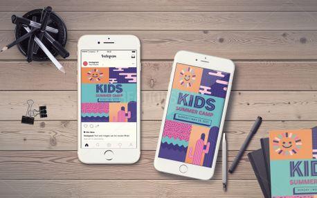 Kids Summer Camp IG Story (98482)