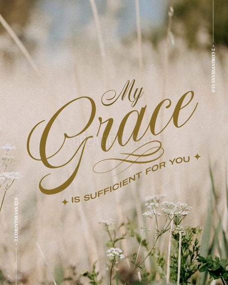 My grace is sufficient for you (98504)