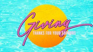 Pool Side : Giving