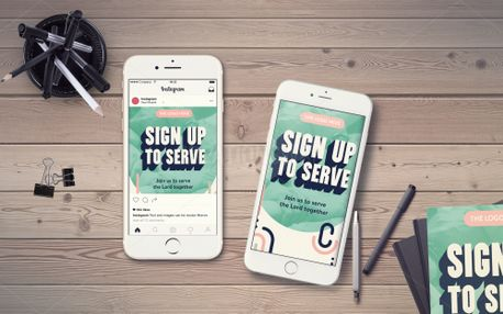 Sign up to Serve IG Story (98700)
