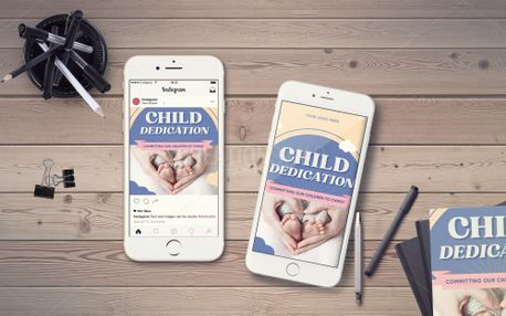 Child Dedication IG Story (98780)