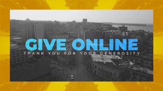 City Give Online Slide