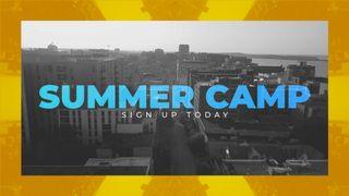 City Summer Camp Slide