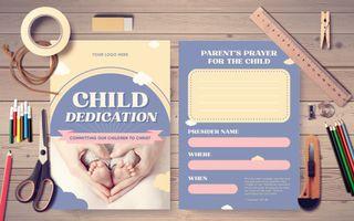 Child Dedication IG Postcard