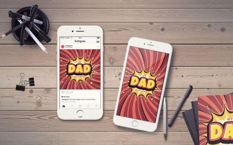 My dad is my Hero IG Story (98869)