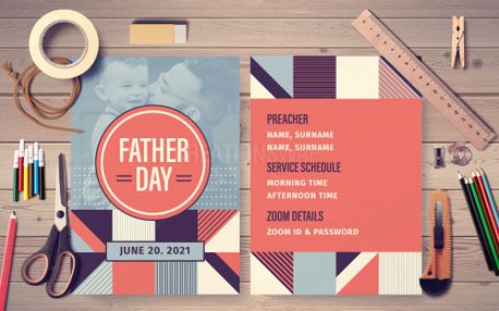 Father's Day Postcard (98871)