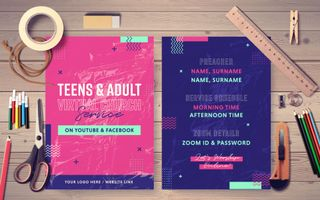 Teens & Adult Virtual Service