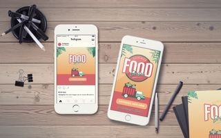Summer Food Drive IG Story