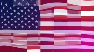 Digital Flag Background